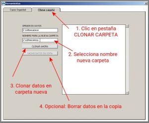 Clonar Carpeta - Softmecanicos
