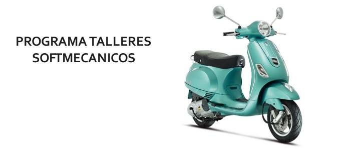 Programa taller motos vespa